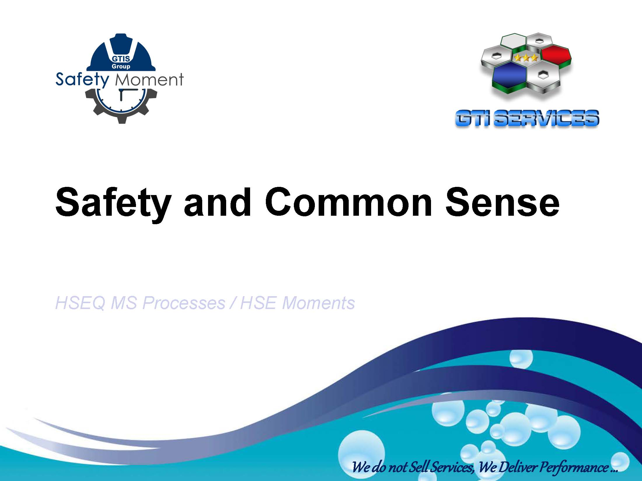 20191122 - Safety Moment - Safety and Common Sense_Page_1