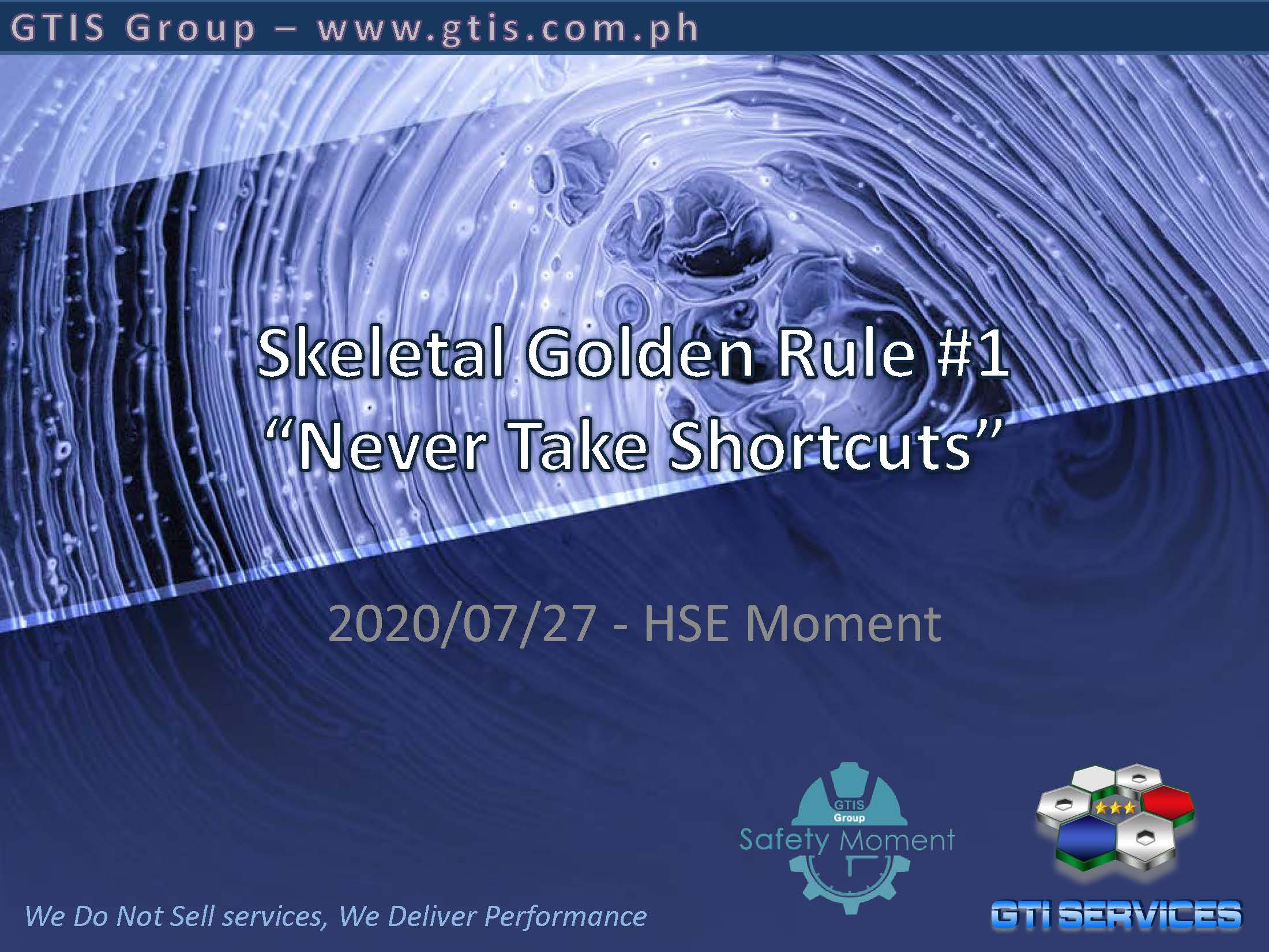 20200728 - Safety Moment - Skeletal Golden Rule #1 _ No Shortcuts_Page_1